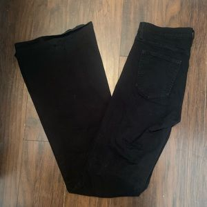 BLACK GAP FLARE JEANS